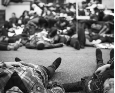 Lying Down to Stand up: Beyond Ferguson