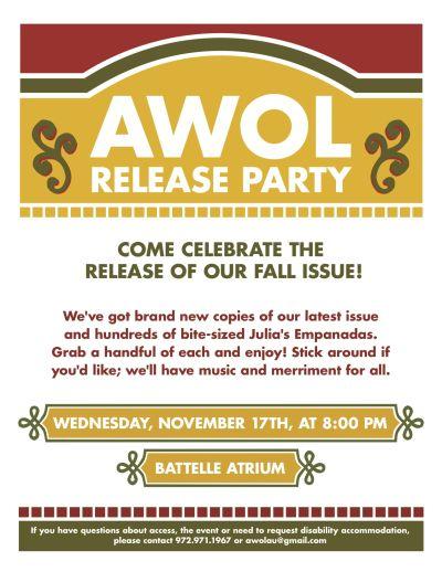 Coming Soon: AWOL Fall 2010