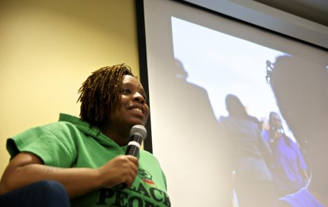 #BlackLivesMatter Co-founder Encourages Students to Engage In Global Struggle