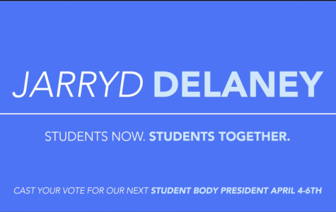 AUSG Presidential Candidate Jarryd Delaney