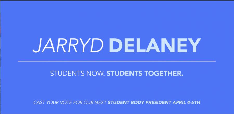 AUSG+Presidential+Candidate+Jarryd+Delaney