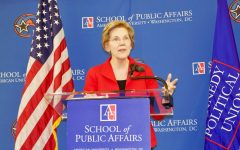 Has the 2020 Campaign Trail Already Begun? : Elizabeth Warren comes to AU and talks foreign policy