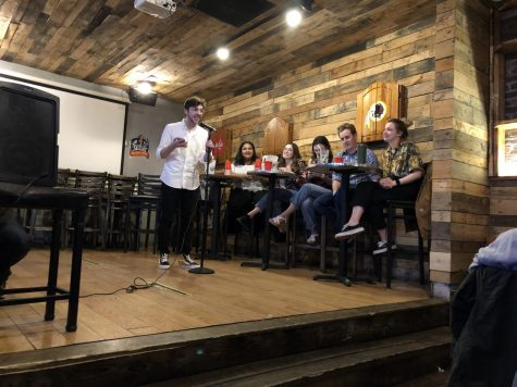 """Better than Tinder,"" AU Students Perform Stand-Up Comedy in Tenleytown"