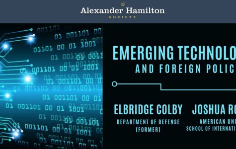 Alexander Hamilton Society holds 'Emerging Technology' debate