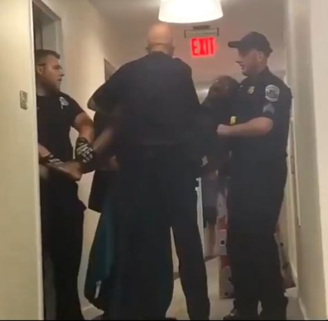 Video Shows Police Carrying Student Out of Her Apartment