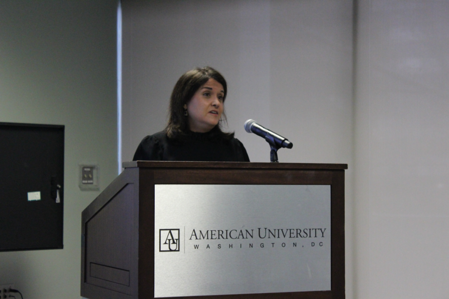 "American University library hosts ""Reparations for slavery: History and ongoing debates"" event, featuring Dr. Ana Lucio Araujo"