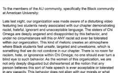 Two AU freshmen shown in social media video using racial slur