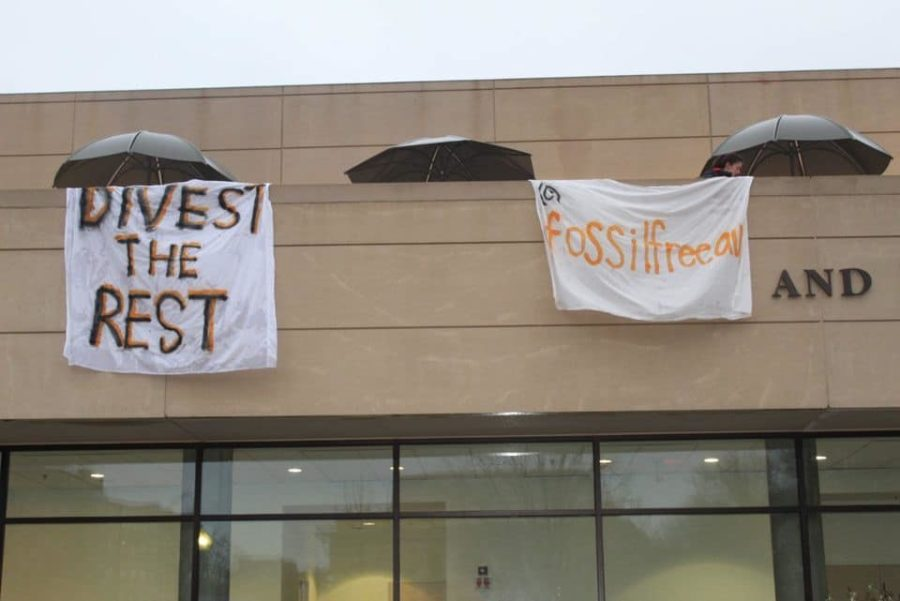 Photo from Fossil Free AU